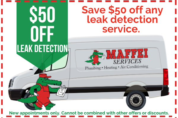image of leak detection services coupon